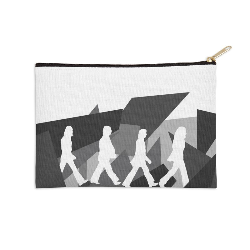 Abbey Road Accessories Zip Pouch by Alison Sommer's Artist Shop