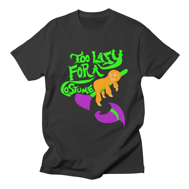 Too Lazy For a Costume Men's T-Shirt by Alissa's Artist Shop