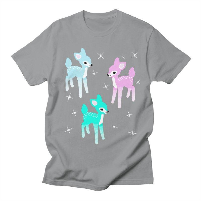 Kitschy Christmas Deer Men's T-Shirt by Alissa's Artist Shop