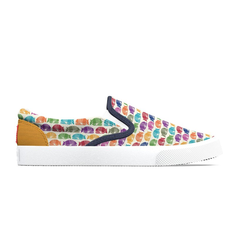 Colorful Armadillos Men's Shoes by Alissa's Artist Shop