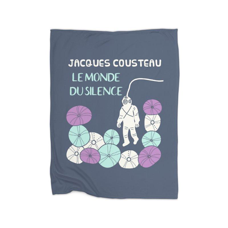 Le Monde Du Silence Home Blanket by Alissa's Artist Shop