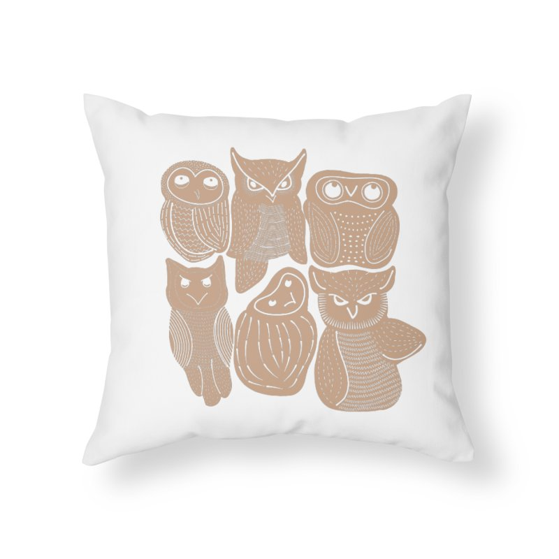 Owl Always Love You Home Throw Pillow by Alissa's Artist Shop