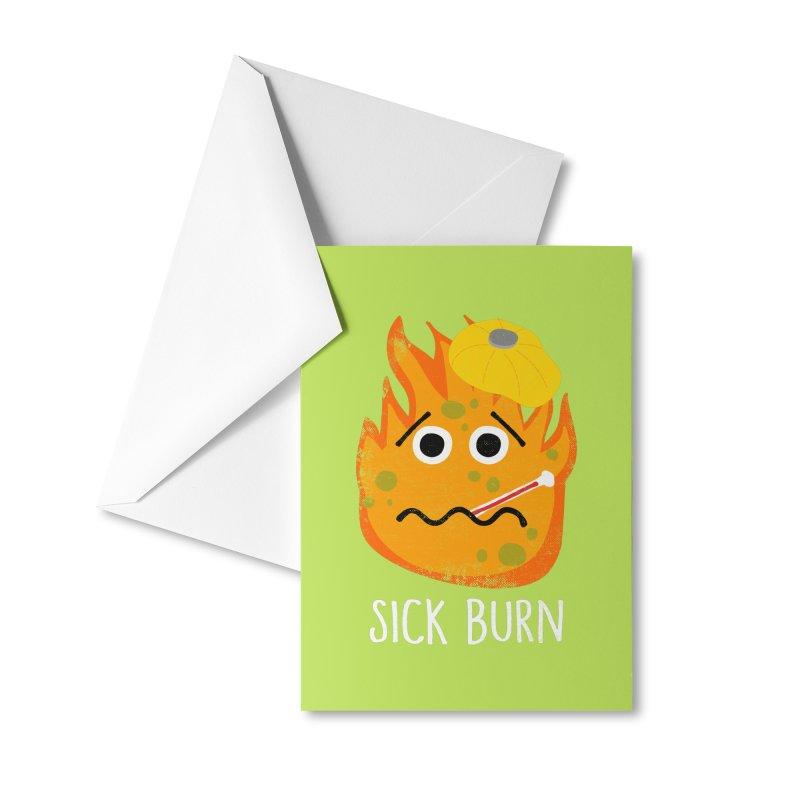 Sick Burn Accessories Greeting Card by Alissa's Artist Shop