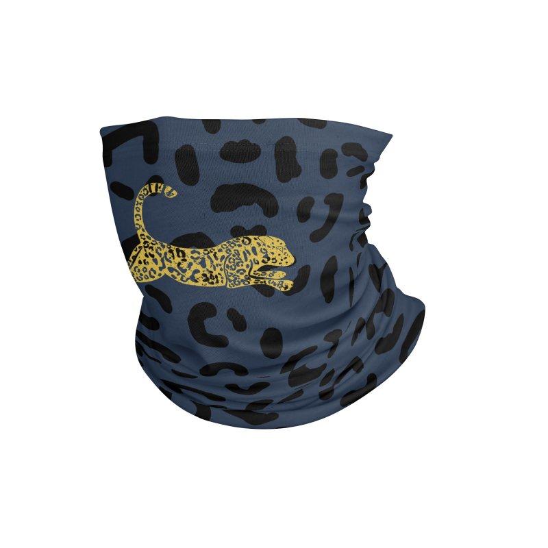Jumping Jaguar Accessories Neck Gaiter by Alissa's Artist Shop