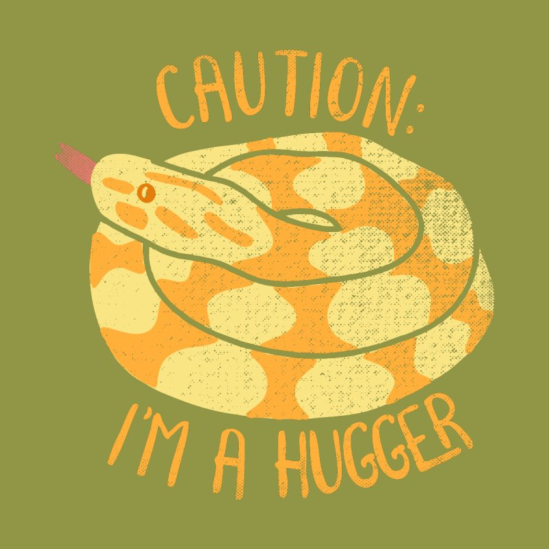 I'm A Hugger Accessories Greeting Card by Alissa's Artist Shop