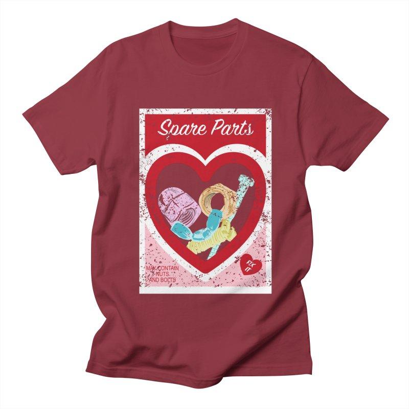 Spare Parts Men's T-Shirt by Alissa's Artist Shop