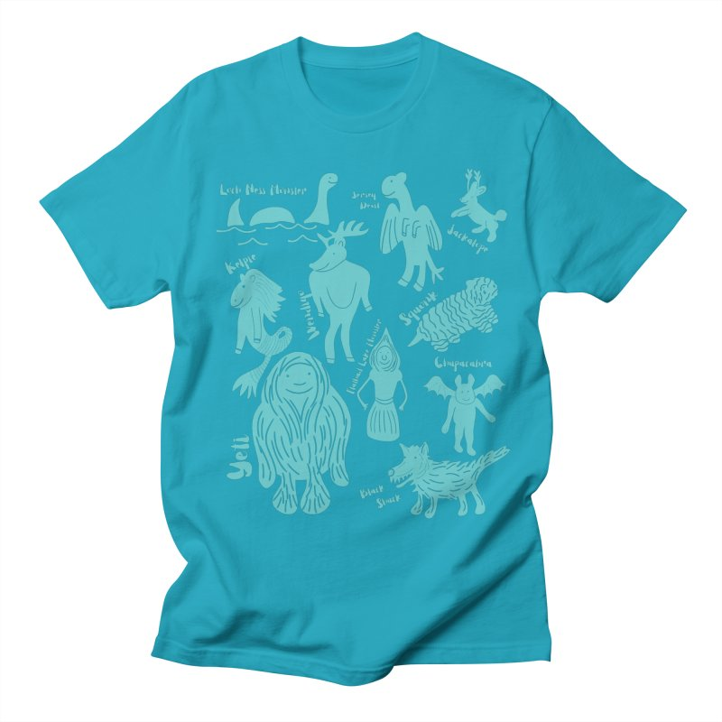 Guide to Cryptids Men's T-Shirt by Alissa's Artist Shop