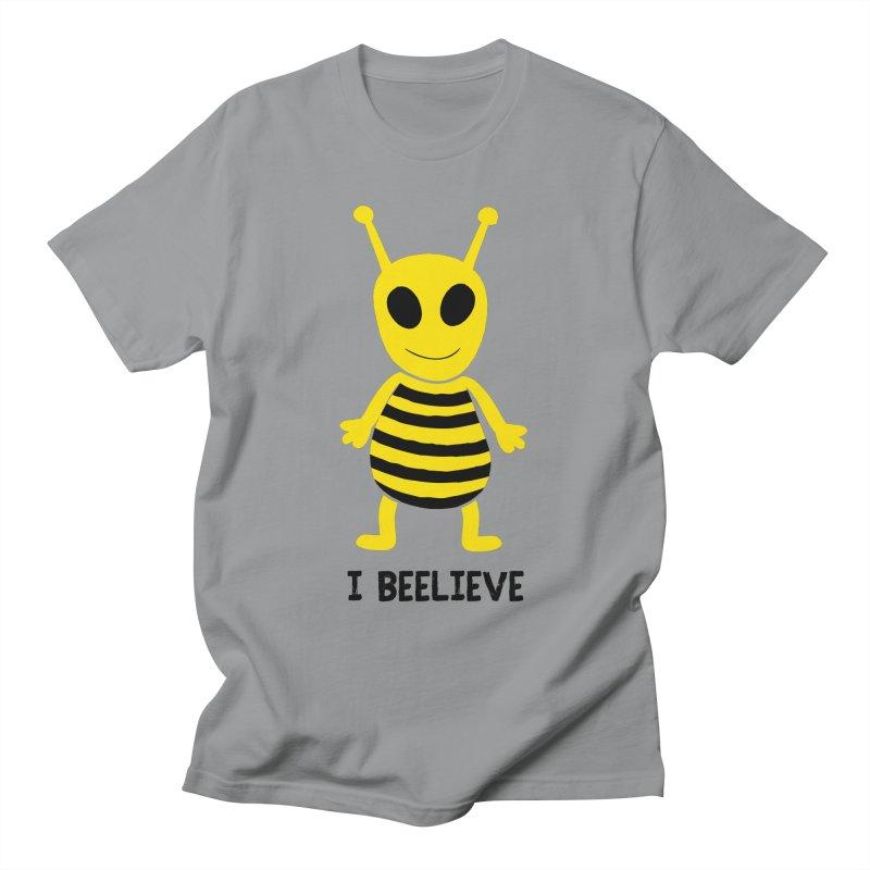 I Beelieve Men's T-Shirt by Alissa's Artist Shop
