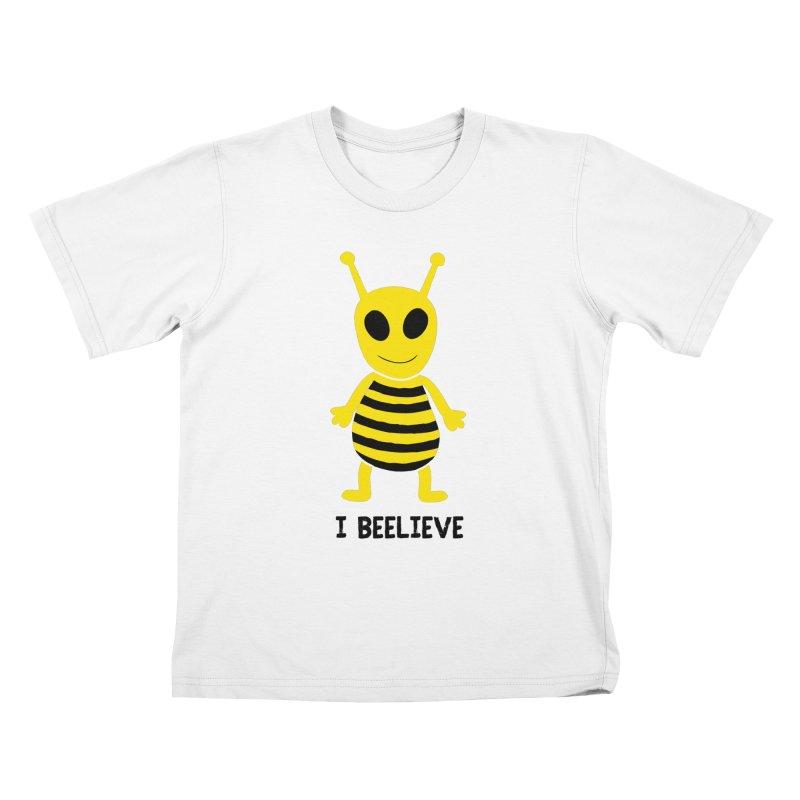 I Beelieve Kids T-Shirt by Alissa's Artist Shop