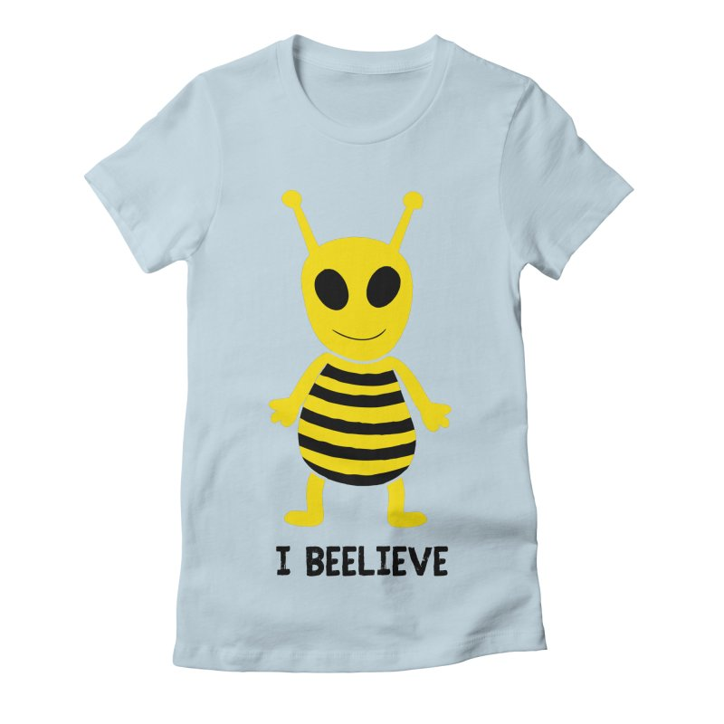 I Beelieve Women's T-Shirt by Alissa's Artist Shop