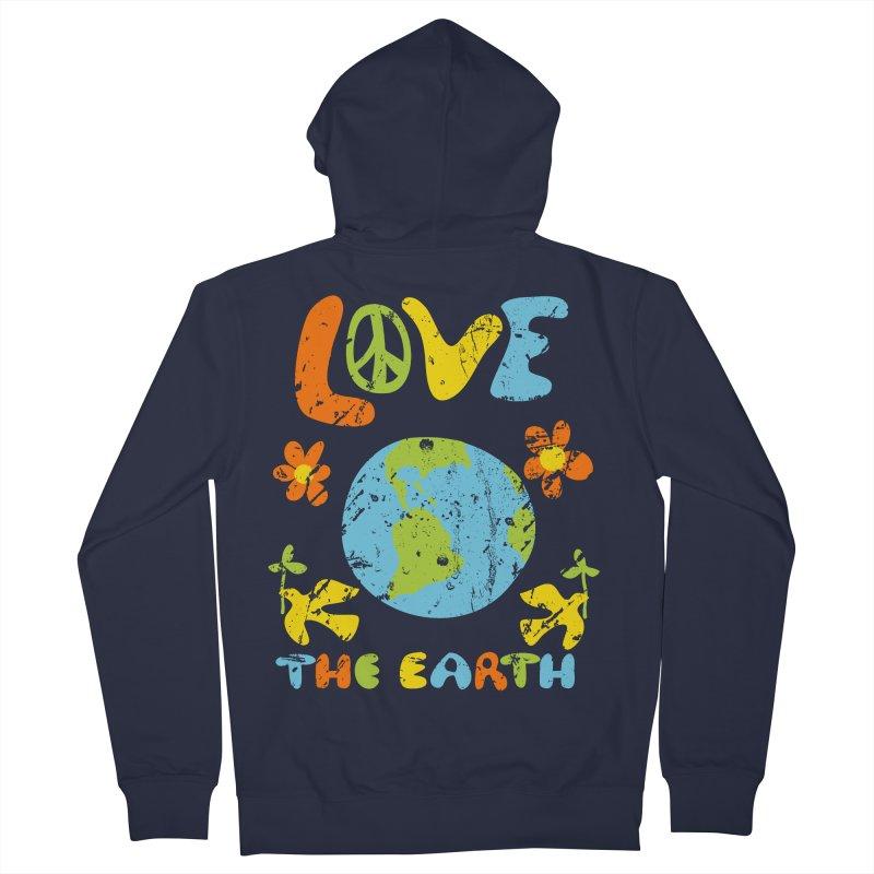 Love the Earth Women's Zip-Up Hoody by Alissa's Artist Shop