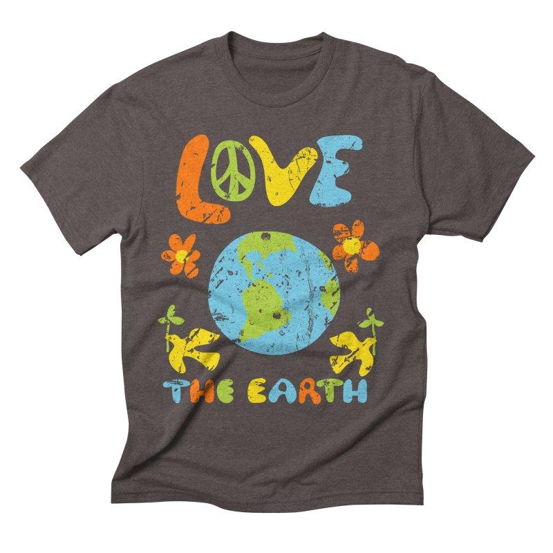 Love the Earth Men's T-Shirt by Alissa's Artist Shop