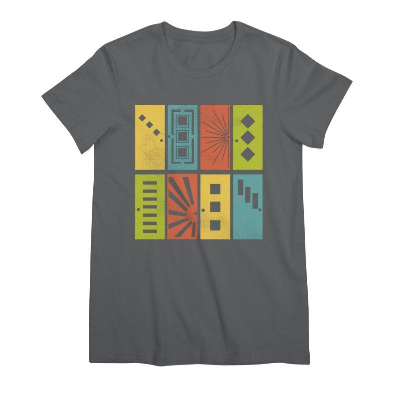 Shut the Front Door Women's T-Shirt by Alissa's Artist Shop