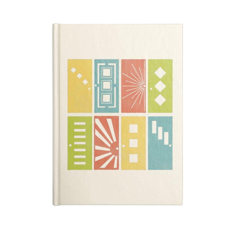 Shut the Front Door Accessories Notebook by Alissa's Artist Shop