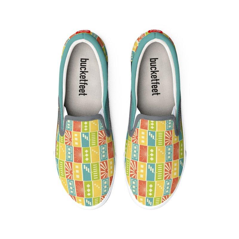 Shut the Front Door Women's Shoes by Alissa's Artist Shop