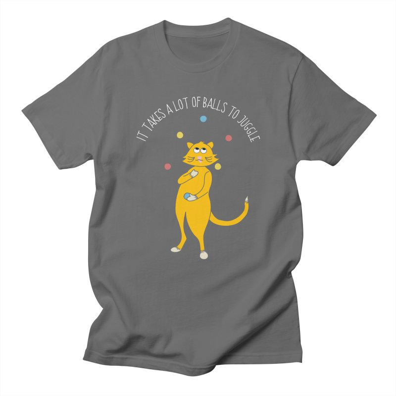 It Takes a Lot of Balls to Juggle Men's T-Shirt by Alissa's Artist Shop