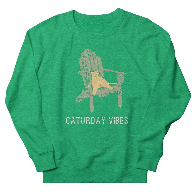 Caturday Vibes Women's Sweatshirt by Alissa's Artist Shop
