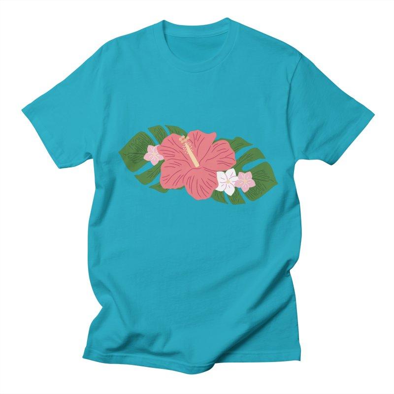 Aloha, Hawaii Men's T-Shirt by Alissa's Artist Shop