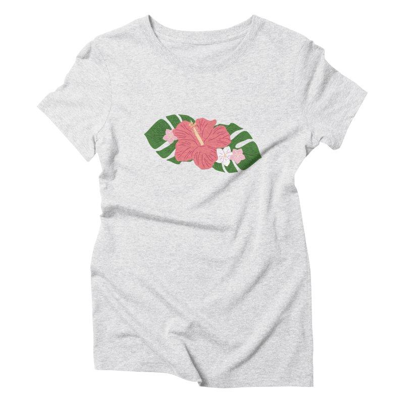 Aloha, Hawaii Women's T-Shirt by Alissa's Artist Shop