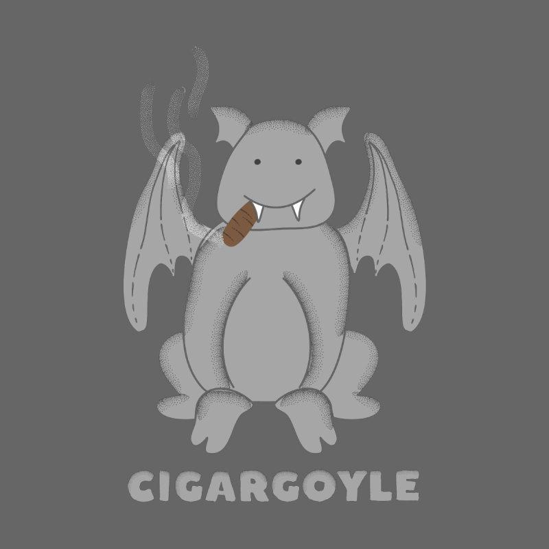 Cigargoyle Men's T-Shirt by Alissa's Artist Shop