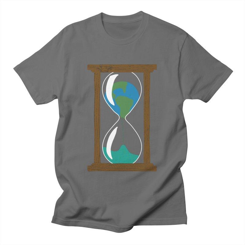 Our Glass is Half Empty Men's T-Shirt by Alissa's Artist Shop