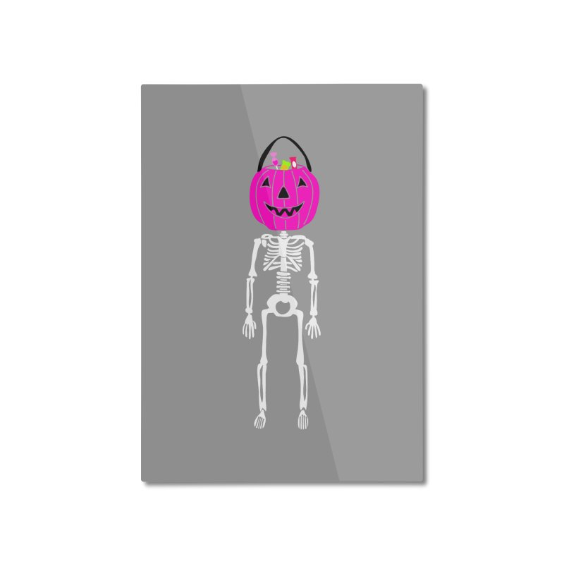 Candy For Brains Home Mounted Aluminum Print by Alissa's Artist Shop