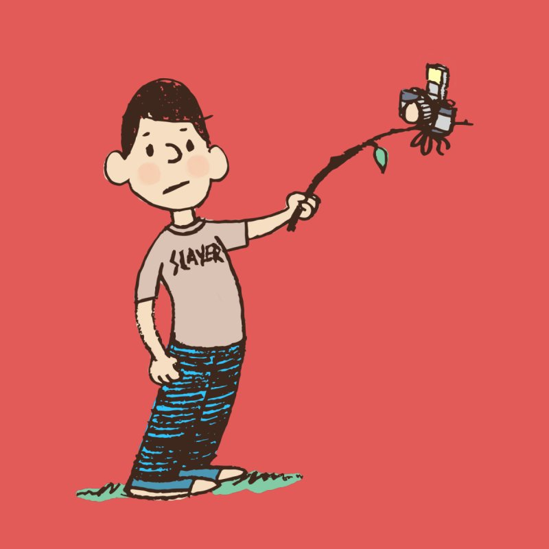Selfie Branch Kids Baby T-Shirt by Zach Woomer's Little Shop