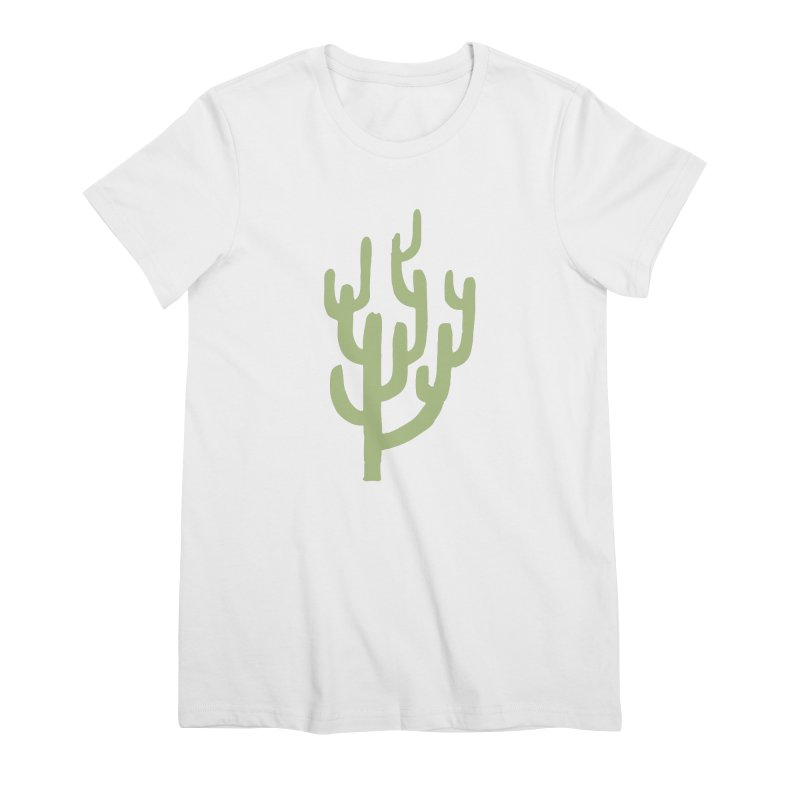 Cactus Number Two Women's Premium T-Shirt by Zach Woomer's Little Shop