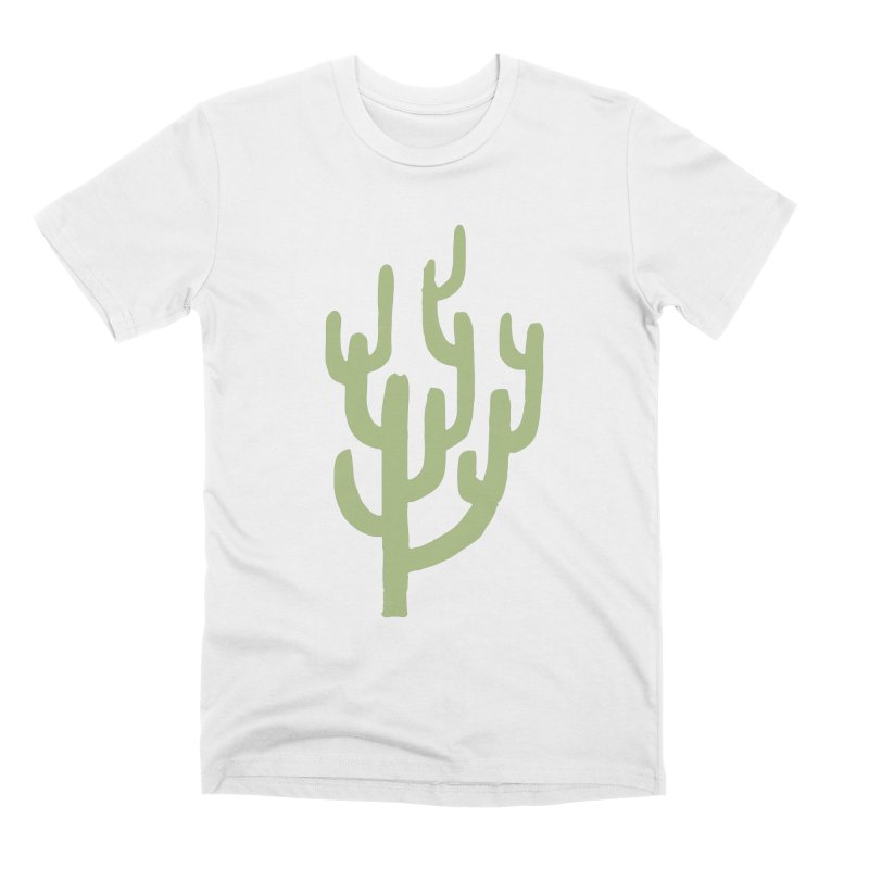 Cactus Number Two Men's Premium T-Shirt by Zach Woomer's Little Shop