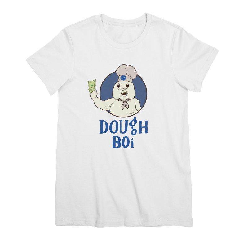 Dough Boi Women's Premium T-Shirt by Zach Woomer's Little Shop