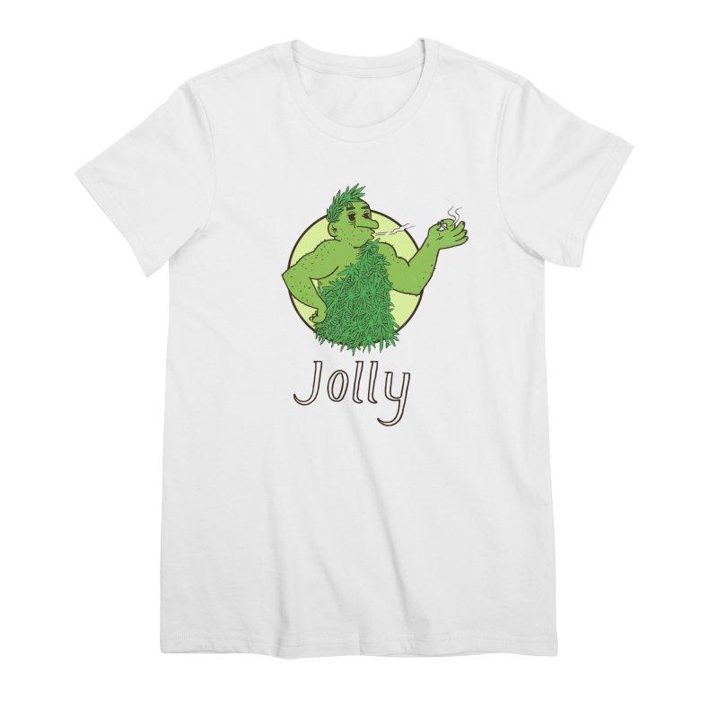 Jolly Women's Premium T-Shirt by Zach Woomer's Little Shop
