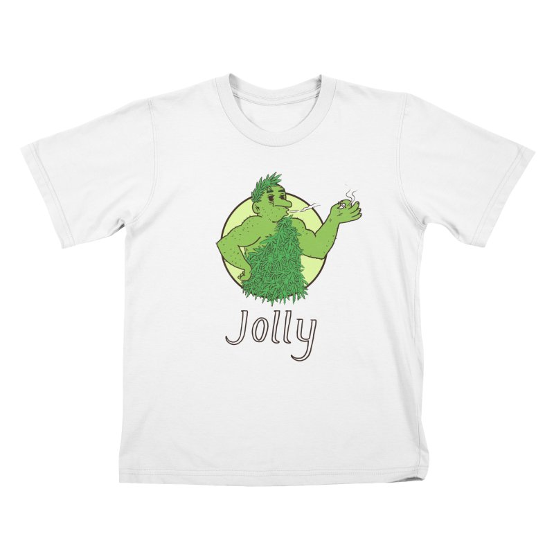 Jolly Kids T-Shirt by Zach Woomer's Little Shop