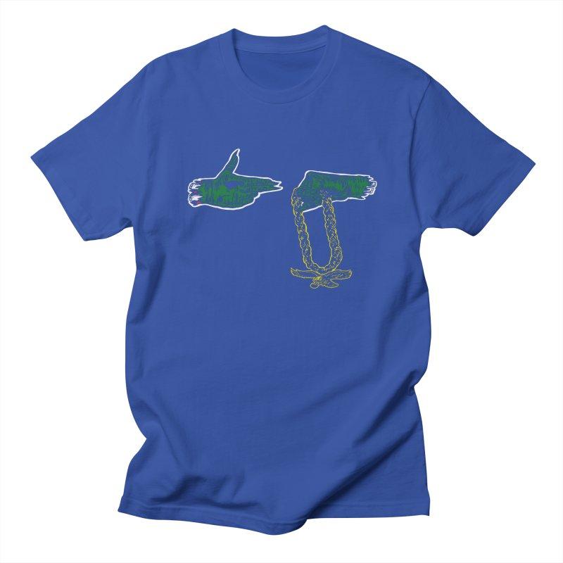 Run the Eagles Men's T-Shirt by Zach Woomer's Little Shop