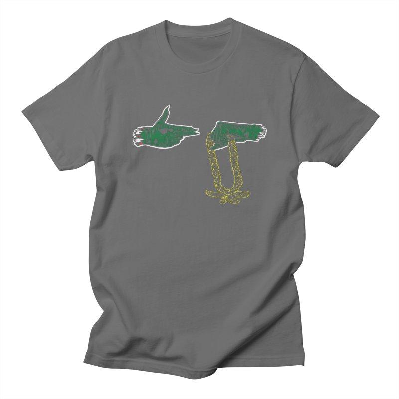 Run the Eagles Men's Regular T-Shirt by Zach Woomer's Little Shop