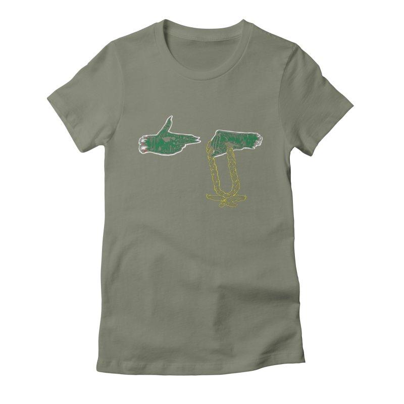 Run the Eagles Women's T-Shirt by Zach Woomer's Little Shop