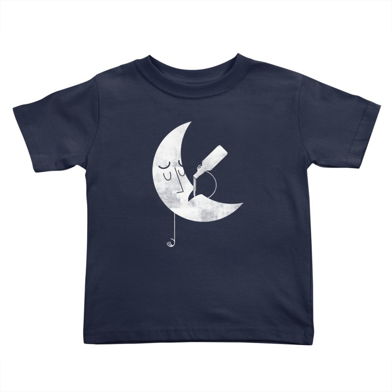 Dark Side of the Moon Kids Toddler T-Shirt by Zach Woomer's Little Shop