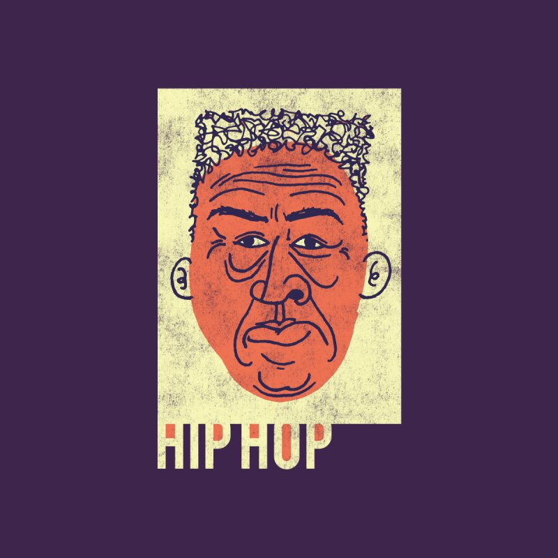 Hip Hop Head None  by Zach Woomer's Little Shop