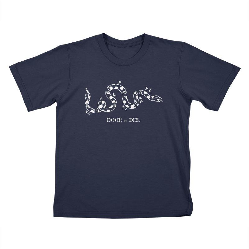 Doop, or Die. Kids T-Shirt by Zach Woomer's Little Shop