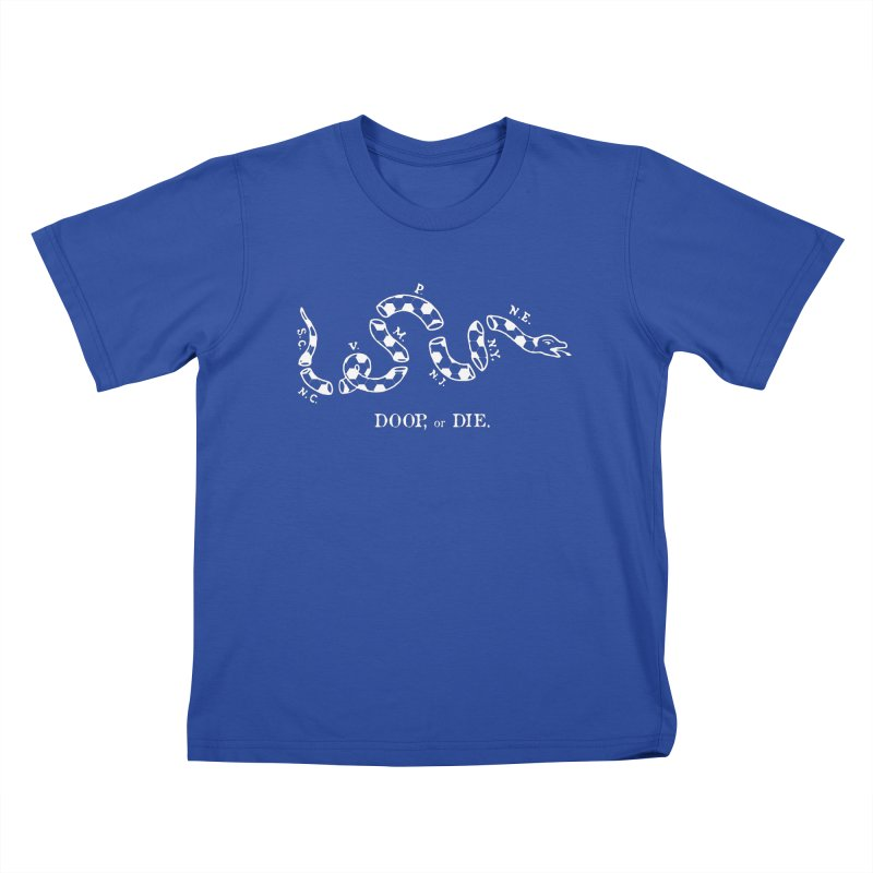 Doop, or Die. Kids T-Shirt by Zach Woomer's Little Shop