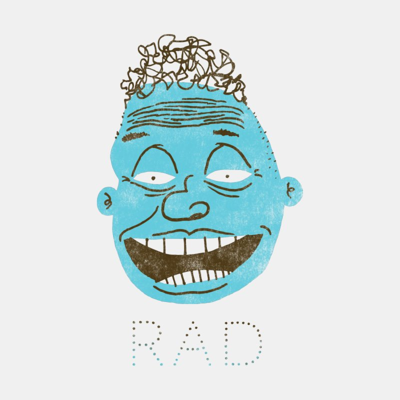 Rad Shirt None  by Zach Woomer's Little Shop