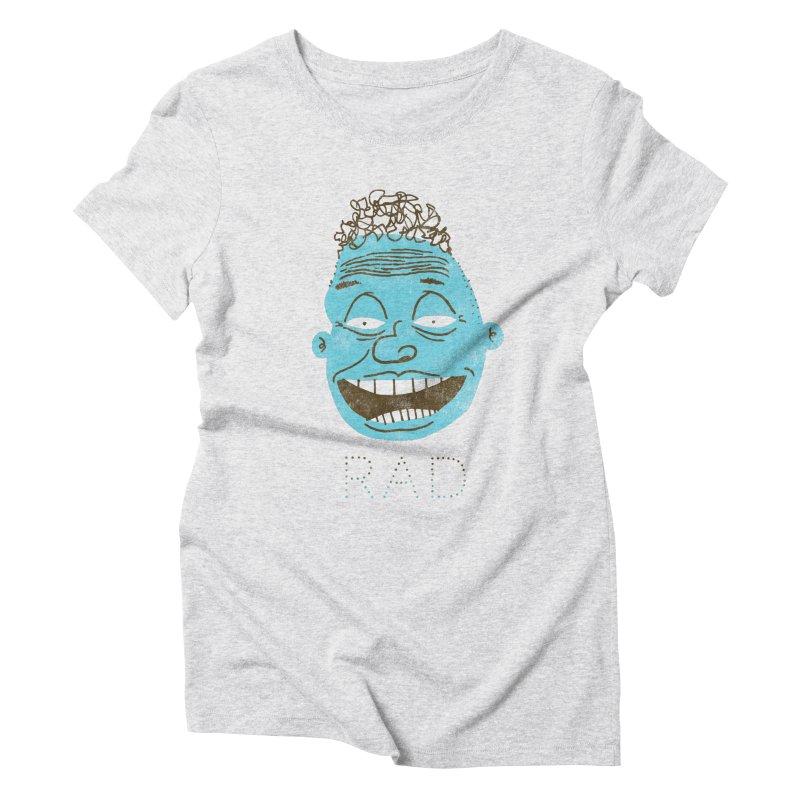 Rad Shirt Women's T-Shirt by Zach Woomer's Little Shop