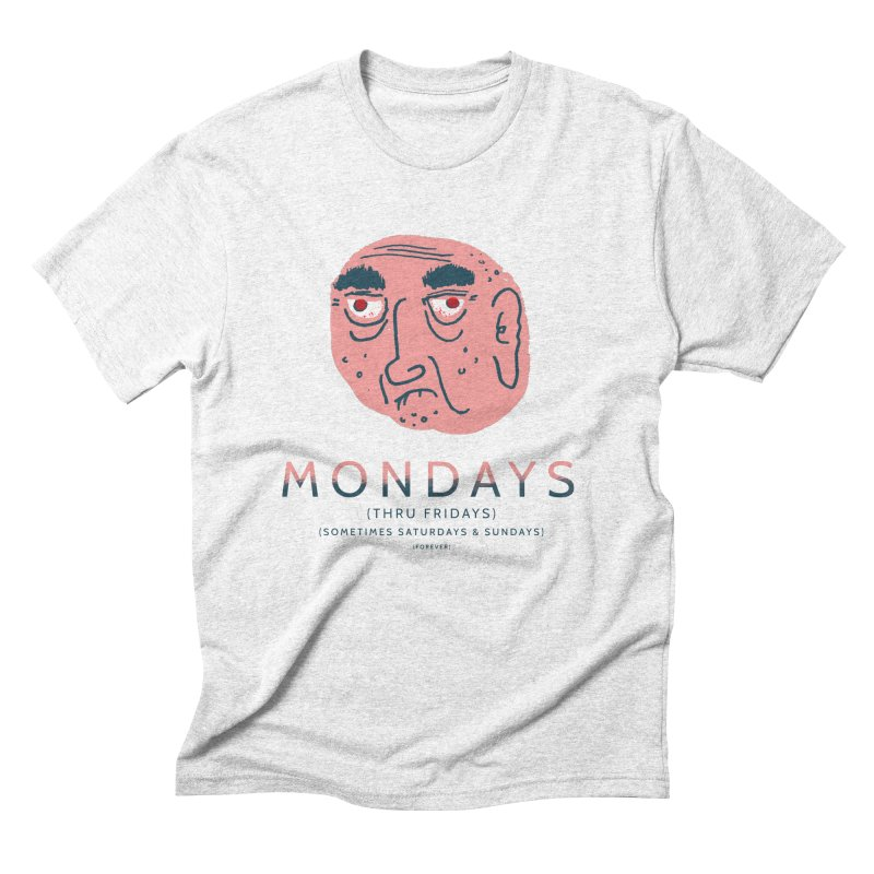 Typical Week Men's Triblend T-shirt by Zach Woomer's Little Shop
