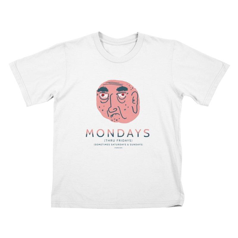 Typical Week Kids T-Shirt by Zach Woomer's Little Shop