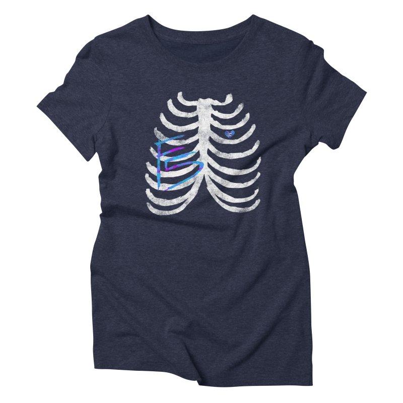Eff Five Women's Triblend T-Shirt by Zach Woomer's Little Shop