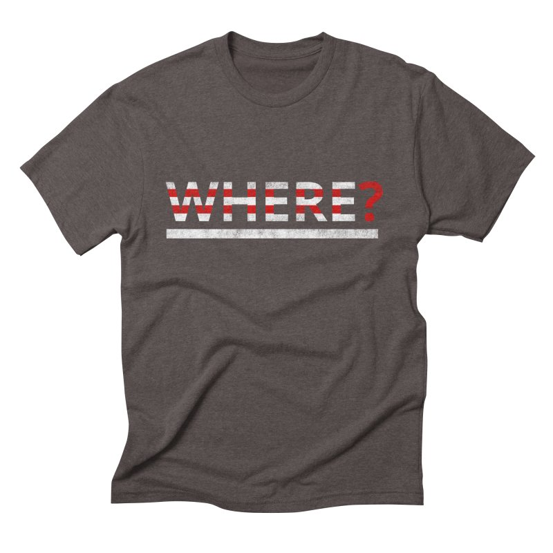 Waldo Men's Triblend T-shirt by Zach Woomer's Little Shop