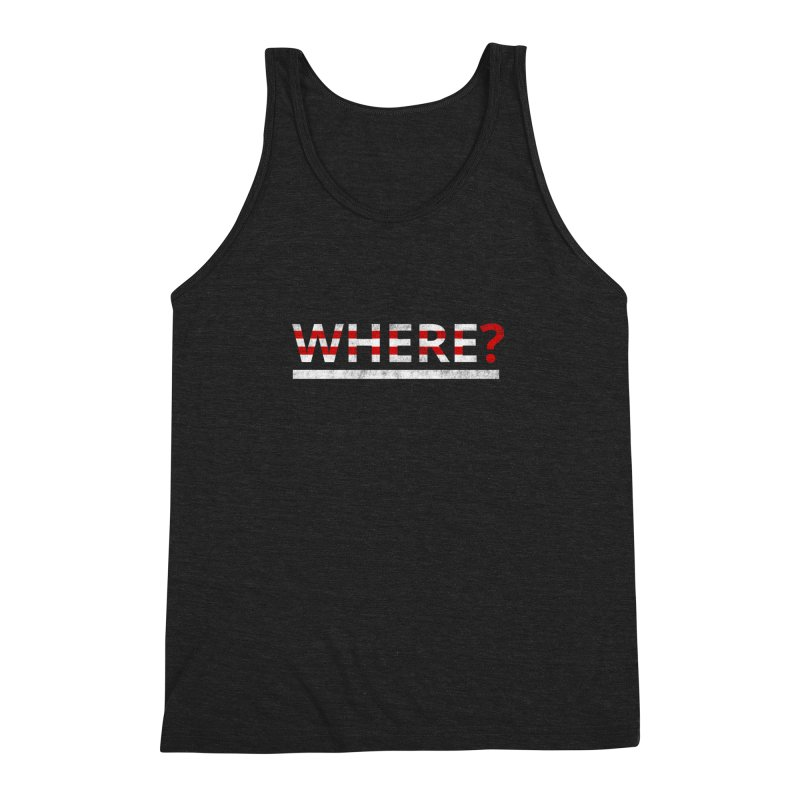 Waldo Men's Triblend Tank by Zach Woomer's Little Shop