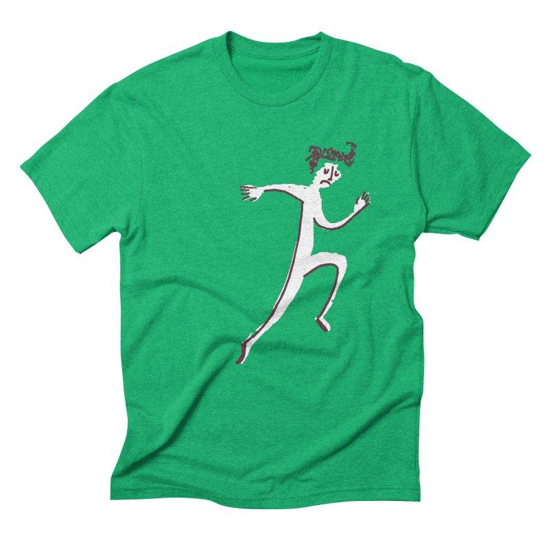 Run. Men's T-Shirt by Zach Woomer's Little Shop