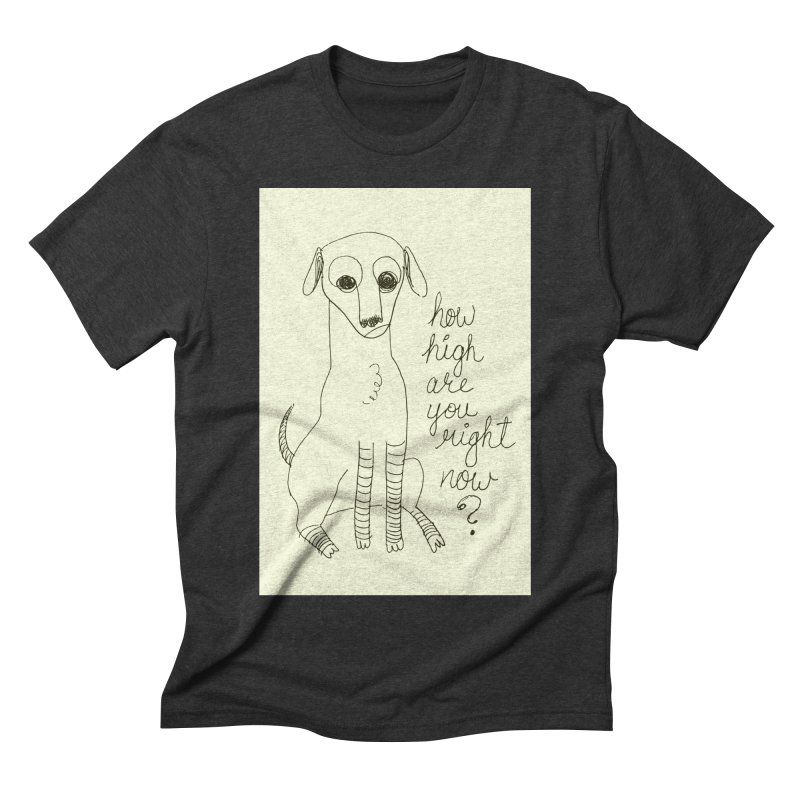 From the Sketch Book Men's Triblend T-Shirt by Zach Woomer's Little Shop