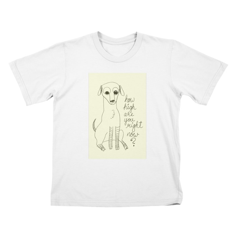 From the Sketch Book Kids T-Shirt by Zach Woomer's Little Shop
