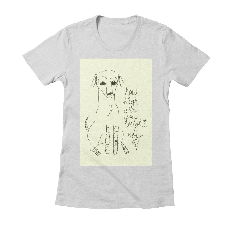 From the Sketch Book Women's Fitted T-Shirt by Zach Woomer's Little Shop